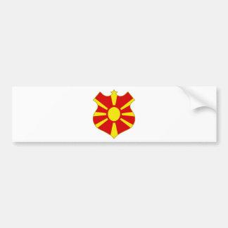 Macedonia-shield.png Autoaufkleber