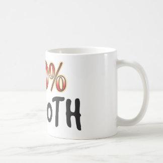 Machen Sie 100 Prozent glatt Tasse