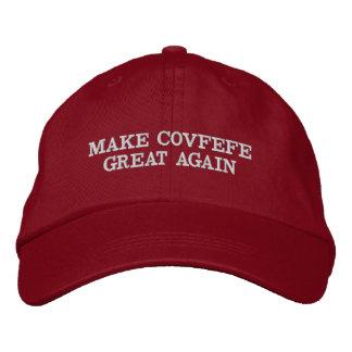 Machen Sie Covfefe groß wieder Bestickte Kappe