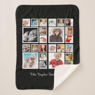Machen Sie Ihre eigene Foto-Collage personalisiert Sherpadecke