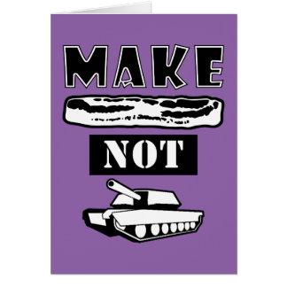 Machen Sie Speck-nicht Krieg! Karte