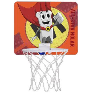 Mächtiger MolarMan® All-Star- Basketballkorb Mini Basketball Ring