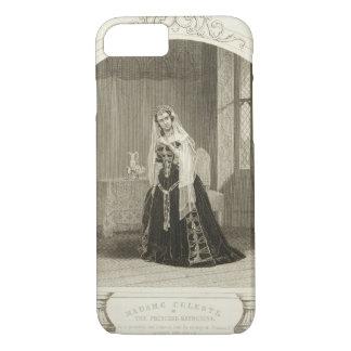 Madame Celeste als die Prinzessin Katherine, Sc iPhone 8/7 Hülle
