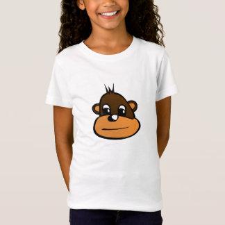 Mädchen-Affe-Shirt T-Shirt