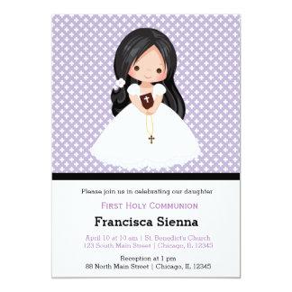 Mädchen der heiligen Kommunion * wählen Sie 12,7 X 17,8 Cm Einladungskarte