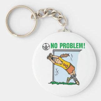 Mädchen-Fußball-Tormann-T-Shirts und Geschenke Schlüsselanhänger