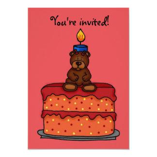 Mädchen-Geburtstags-Party Einladung 12,7 X 17,8 Cm Einladungskarte