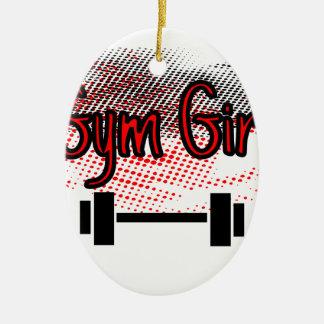 Mädchen-Mädchen Keramik Ornament