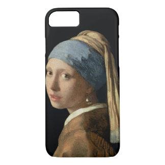 Mädchen mit einem Perlen-Ohrring, c.1665-6 (Öl auf iPhone 8/7 Hülle