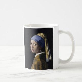 Mädchen mit einem Perlen-Ohrring durch Johannes Kaffeetasse
