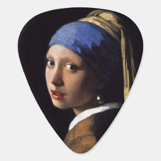 Mädchen mit einem Perlen-Ohrring durch Johannes Plektron