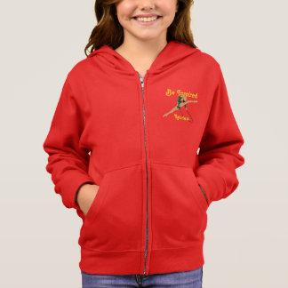 Mädchen-rhythmisches gymnastisches ist hoodie