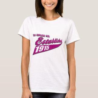Mädchen stellte 98 her T-Shirt