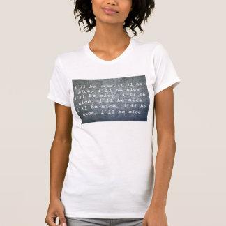 Mädchen-T - Shirt, I ` ll ist… nett
