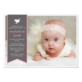 Mädchen-Taufe/Taufe-Einladung Karte