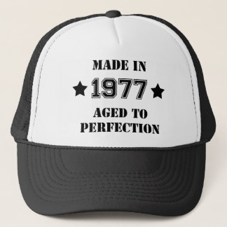 Made in 1977 - Aged to perfection Truckerkappe