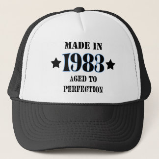 Made in 1983 - Aged to perfection Truckerkappe