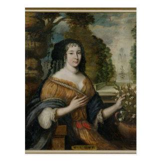 Madeleine de Scudery Postkarte