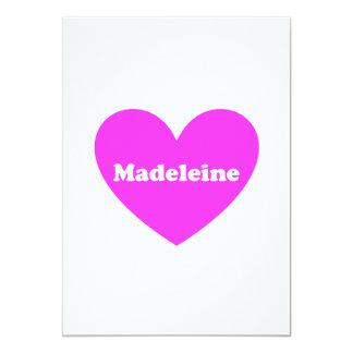 Madeleine Einladungen