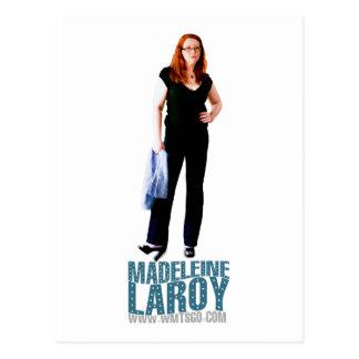 Madeleine LaRoy Postkarte