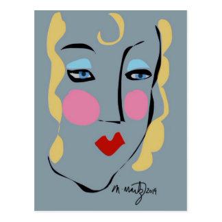 Madeleine war für Matisse wütend Postkarte