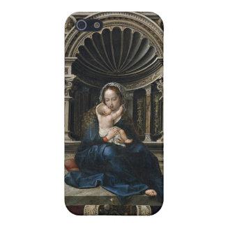 Madonna, das Baby Jesus hält iPhone 5 Schutzhülle