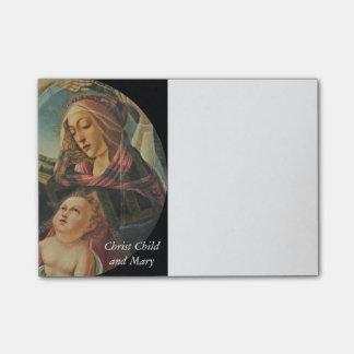 Madonna Del Magnificat Post-it Klebezettel
