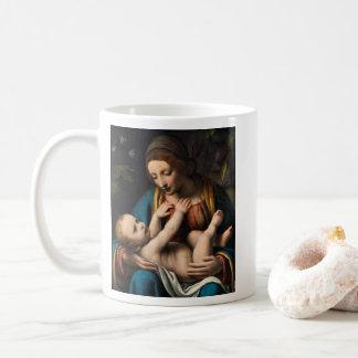 Madonna-MED Kristusbarnet Kaffeetasse