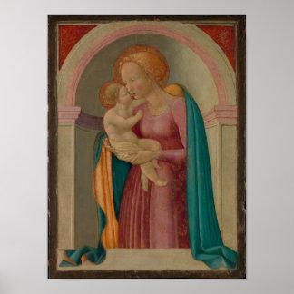 Madonna und das Kind Poster