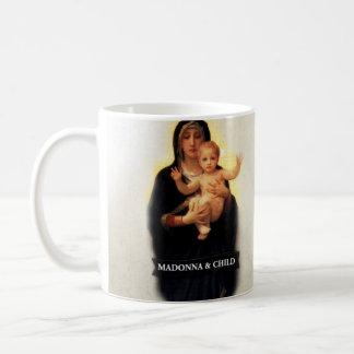 Madonna und Kind historisch Tasse