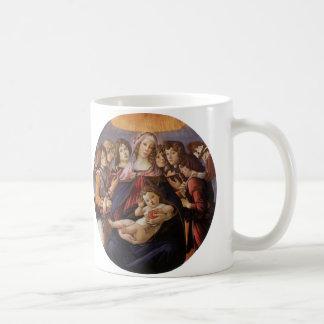 Madonna und Kind mit Engeln durch Sandro Kaffeetasse