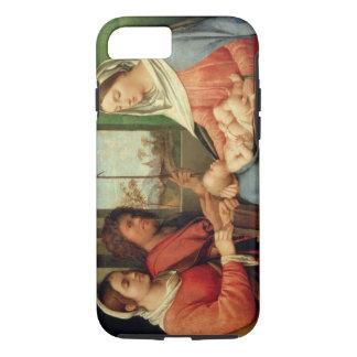 Madonna und Kind mit Heiligen 2 iPhone 8/7 Hülle