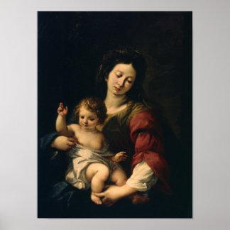 Madonna und Kind Poster