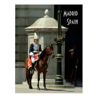 Madrid-Postkarte Postkarte