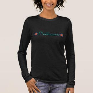 Maelewano (Harmonie) langes Hülsen-Shirt Langarm T-Shirt