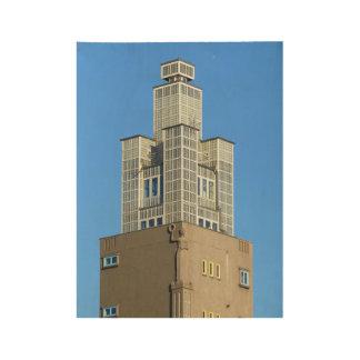 MAGDEBURG, Albinmüller-Turm Holzposter