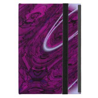 Magentaroter Desaster abstrakt Hülle Fürs iPad Mini