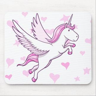 Magische fliegende Pegasus-Einhorn-Mausunterlage Mauspads