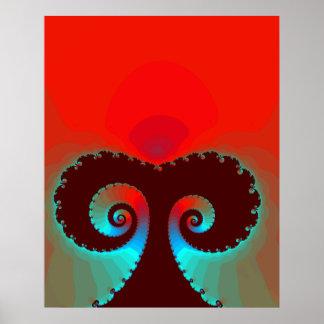 Magische Pilz-Fahrt Poster