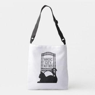 Magische Stadt-Kätzchen-Tasche Tragetaschen Mit Langen Trägern