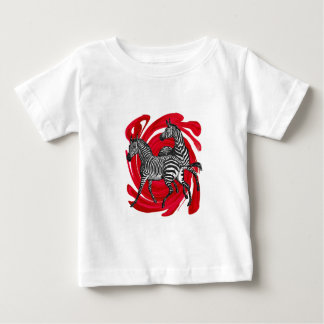 Magische Streifen Baby T-shirt