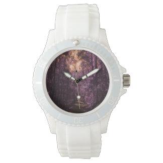 Magischer Waldkundenspezifische Uhr