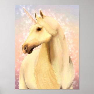 Magisches Einhorn-Plakat Poster