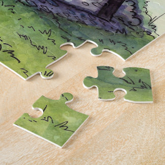 Magisches Einzelteil-Geschäfts-Puzzle vom Puzzle