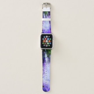 Magisches Portal im Wald Apple Watch Armband