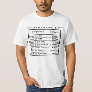 Magisches Wettervorhersagen-Shirt T-Shirt