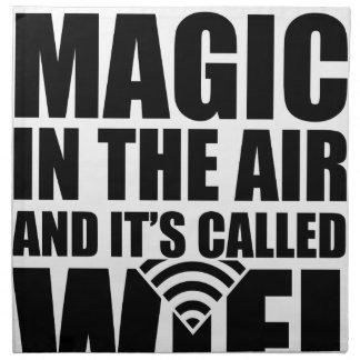 Magisches wifi serviette