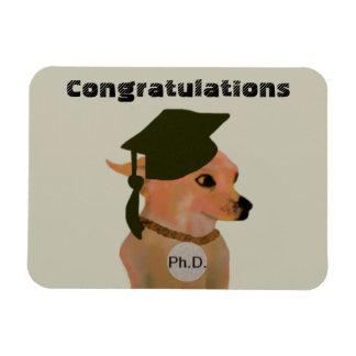 Magnet Chihuahua Ph.D. Graduation Gift