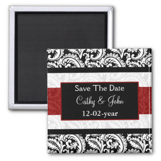 Magnet des Rotes Save the Date