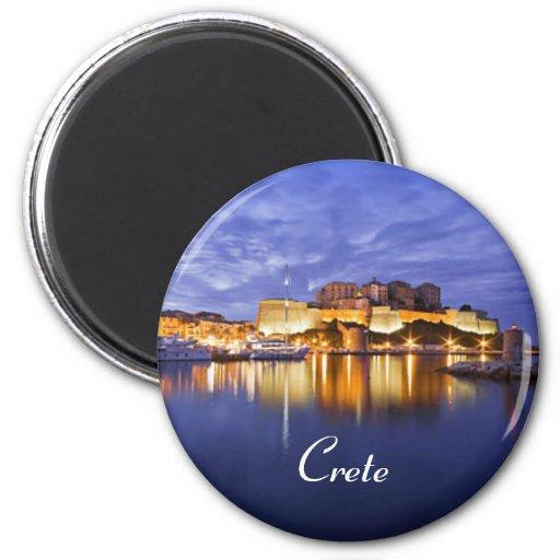 Magnet Kretas Griechenland Kühlschrankmagnet